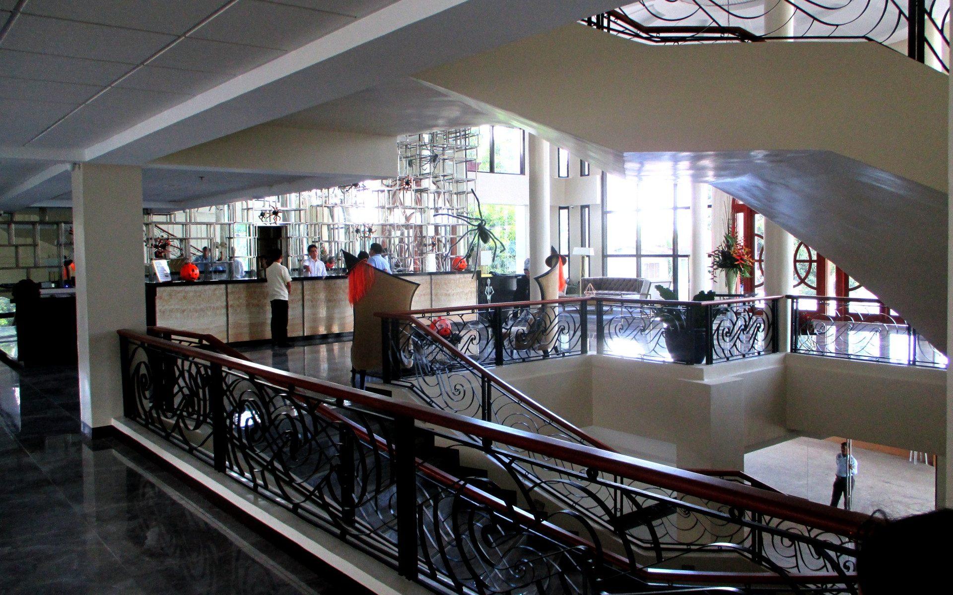 Hotel Oazis Lobby Butuan City Philippines